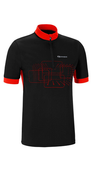 Gonso Kalvin Bike Shirt Herren Black